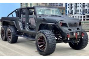 Jeep Gladiator 6x6 со стильными индивидуальными особенностями