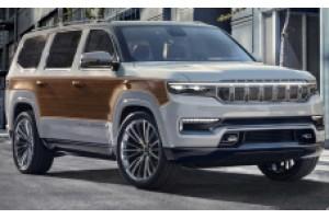 Jeep Grand Wagoneer 2022 року з дерев'яними панелями, не піде в серію, але виглядає він приголомшливо