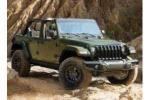 Пакет Xtreme Recon для Jeep Wrangler Willys збільшує дорожній просвіт до 33 см