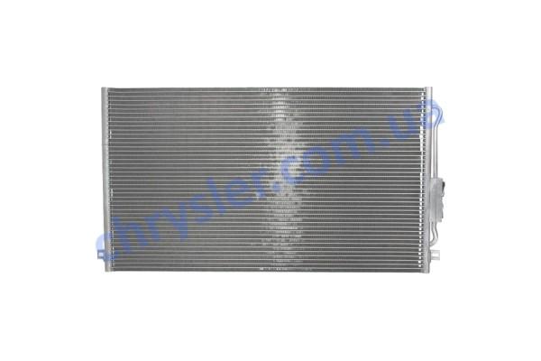 ABAKUS 0080160011 Радіатор кондиціонера